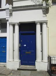 blue door house. Notting Hill Blue Door House I