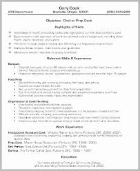 Line Cook Resume Simple Line Cook Resume Example Sample Entry Level Resume