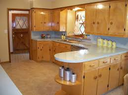 Awesome Midcentury Retro Kitchen Wood Cabinets Design Inspirations
