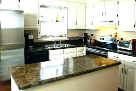 paint your countertops to look like granite can you paint laminate black painting to look like