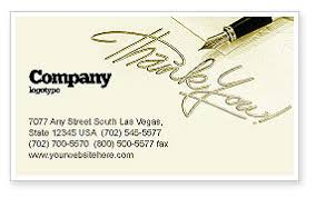 Thank You Business Card Template Layout Download Thank You