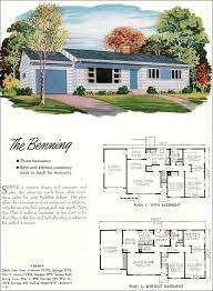 1950s house plans ranch house plans luxury mid century modern house plans 1950 small house plans