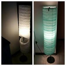 ikea lighting floor lamps. ikea hack from torn paper floor lamp to beach house style simply wrap lighting lamps