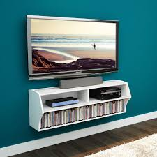 Prepac Altus White Laminate Media Storage