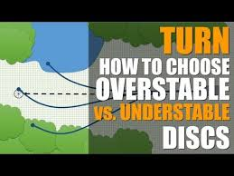 Innova Disc Golf Chart How To Choose Overstable Vs Understable Disc Golf Discs Turn Explained