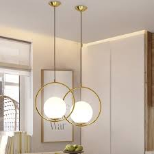 glass ball pendant lighting