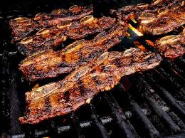 grilled short ribs with smoked spanish