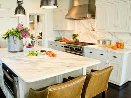 Refinished White Cabinets Refinish Kitchen Countertops Pictures Ideas From Hgtv Hgtv