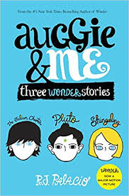 auggie me three wonder stories r j palacio 9781101934852 books amazon ca