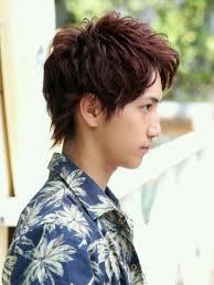 ボタニカルショートウルフメンズ髪型 Lipps 原宿mens Hairstyle