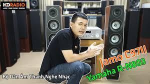 Review] Bộ Dàn Âm Thanh Nghe Nhạc HD03 - Combo Yamaha R-N803 + Jamo C97II -  YouTube
