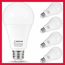 Great Value Cfl Light Bulbs Lohas 150w 200watt Equivalent Led Light Bulbs A21 23w Soft Whit 4pack White