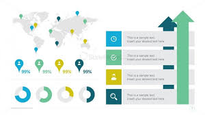 Powerpoint Infographic Template Free Free Global Statistics Powerpoint Infographics Slidemodel