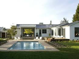 white ranch house with metal roof pleasant ranch style house plans by home modern