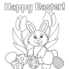 Probably bunny coloring sheets, easter egg coloring sheets, lilies to color and other images of spring coloring sheets. Happy Easter Free N Fun Easter From Oriental Trading Bunny Coloring Pages Easter Coloring Pages Printable Easter Coloring Sheets
