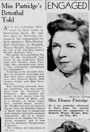 Eleanor Partridge engagement - Newspapers.com