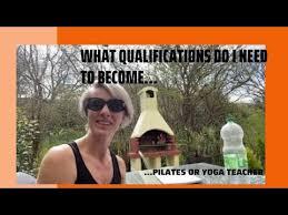 pilates or yoga teacher