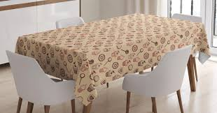 Cupcake Tablecloth Pastry Sweets Donuts Muffins Cookies Biscuit