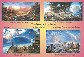 the noah s ark series religious jigsaw puzzle