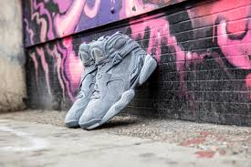 jordan 8 cool grey. the air jordan 8 is back this summer and in a brand new colorway of cool grey inspired by 11 which was first to feature that same hue.