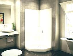 full size of one piece 60 shower unit 30 x 48 stall kit corner cost to