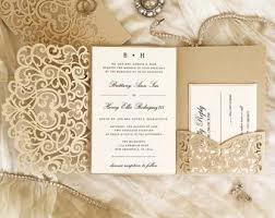 Wedding Invitatiins Wedding Invitation Etsy