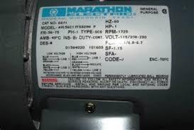 marathon motor wiring diagram newstongjl com marathon electric ac motor wiring diagram at Marathon Motor Wiring Diagram