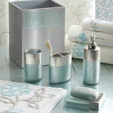 brown and blue bathroom accessories. Brilliant Blue Grey Bathroom Accessories Unique Brown And Of C