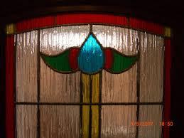 coloured glass door example