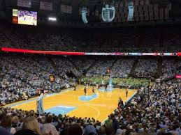 Dean E Smith Center Section 102 Row W Home Of North