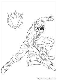 Miglior Collezione Power Rangers Megaforce Da Colorare Disegni Da