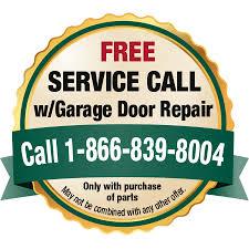 garage door repair deal