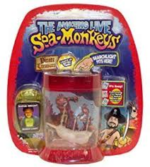 Sea Monkey Light Big Time Toys Sea Monkeys Light Up Pirate Treasure Assorted