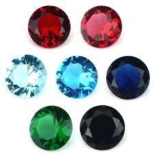 glass gemstone round decorative glass gems glass pebbles bulk