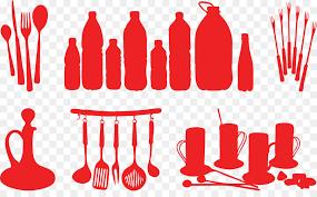 kitchen utensils silhouette vector free. Knife Kitchen Utensil Silhouette - Kitchenware Vector Utensils Free E