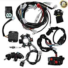 complete electrics all wiring harness wire loom assembly for gy6 4 now r 2 315