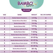 Bambo Nature Premium Baby Diapers Size 0 144 Count For Premature Baby Super Absorbent And Eco Friendly