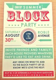 Block Party Invitation Template Free Flyer Tree Lights Fundraiser ...