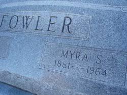 "Sarah Almyra ""Myra"" Crawford Fowler (1881-1964) - Find A Grave Memorial"