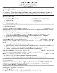 Best Of Warehouse Supervisor Resume Sample B40online Extraordinary Warehouse Supervisor Resume