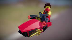 LEGO Ninjago - Kai Drifter - Download Free 3D model by HansWurschd  (@HansWurschd) [81ab432]
