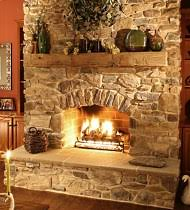 Electric Stone Fireplace Faux Veneer Surround Ideas Faux Stone Fake Stone Fireplace
