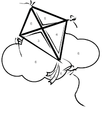 Free Printable Kite Template Kite Coloring Pages Printable Tyfconsulting Com