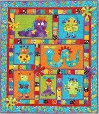 41 best Quilts for kids images on Pinterest | Baby quilts, Pointe ... & Kids Quilts - Monster Patch Pattern - Quilting by the Bay in Panama City,  Florida featuring Quilting Fabric, Quilt Books, Quilt Patterns and Quilt  supplies Adamdwight.com
