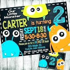 Lil Monster Birthday Invitations Birthday Monster Invitations Birthday Monsters Invitation Monster