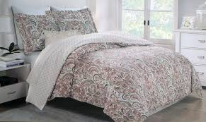 nifty paisley pattern plus bedroom decoration ideas nicole miller duvet cover set tahari home bedding home