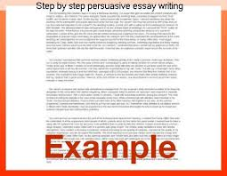 step by step persuasive essay writing term paper service step by step persuasive essay writing