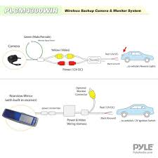 plcm7200 wiring diagram plcm7200 image wiring diagram amazon com pyle plcm4300wir vehicle wireless rear view mirror on plcm7200 wiring diagram boss 625uab