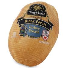 Forest of breast black