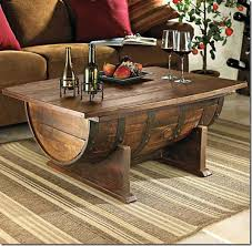 ... Coffee Table, Extraordinary Dark Brown Rectangle French Country Wood Cool  Coffee Table Idea As The ...